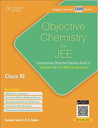 Objective Chemistry for JEE: Class XI