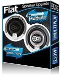Fiat MULTIPLA Avant Kit Haut-parleurs 'FLI Audio Haut-Parleur de Voiture de Porte 210W