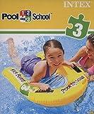 Intex Schwimmhilfe Kickboard Pool School Step 3, Gelb, 79 x 76 cm