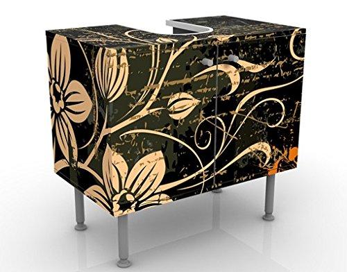Apalis 53499 Waschbeckenunterschrank Zarte Ranken, 60 x 55 x 35 cm