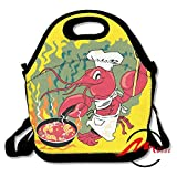 ZMvise Crawfish Chef Camp Cooking Sac Repas Isotherme réutilisable Picnic Lunch Sacs...