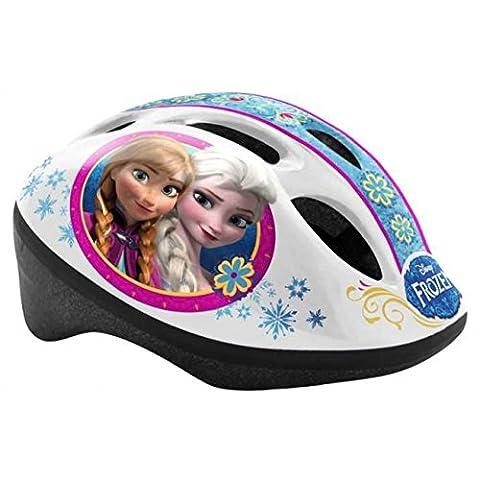 Kinderfahrradhelm 50-56 cm Disney Größe S Fahrradhelm TÜV geprüft Eiskönigin Frozen Helm Motiv (Fahrradhelme Günstig)