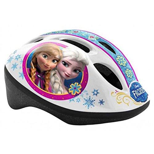 Kinderfahrradhelm 50-56 cm Disney Gr&ouml&szlige S Fahrradhelm T&UumlV gepr&uumlft Eisk&oumlnigin Frozen Helm Motiv