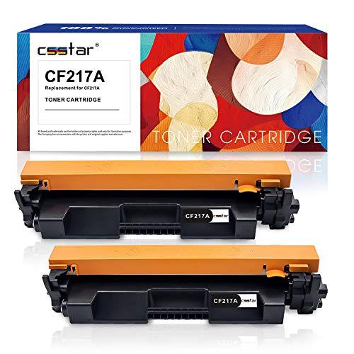 CSSTAR Pack 2 Compatible Cartuchos Tóner Reemplazo