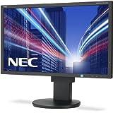 NEC Multisync EA234WMi 58,4cm 23Zoll IPS TFT mit W-LED-Backlight 16:9 250cd 6ms 1920x1080 DVI-D HDMI DisplayPort Mini D-sub schwarz