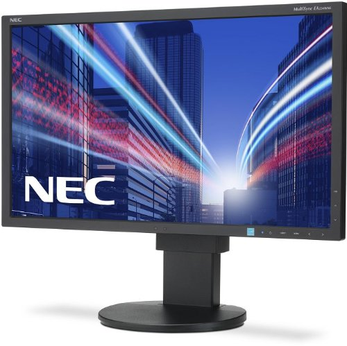 NEC Multisync EA234WMi 58,4cm 23Zoll IPS TFT mit W-LED-Backlight 16:9 250cd 6ms 1920x1080 DVI-D HDMI DisplayPort Mini D-sub schwarz