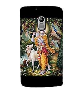 Lord Krishna 3D Hard Polycarbonate Designer Back Case Cover for Lenovo Vibe K4 Note :: Lenovo K4 Note A7010a48 :: Lenovo Vibe K4 Note A7010 :: Lenovo Vibe X3 Lite