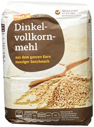 Tegut Dinkelvollkornmehl, 1.00 kg