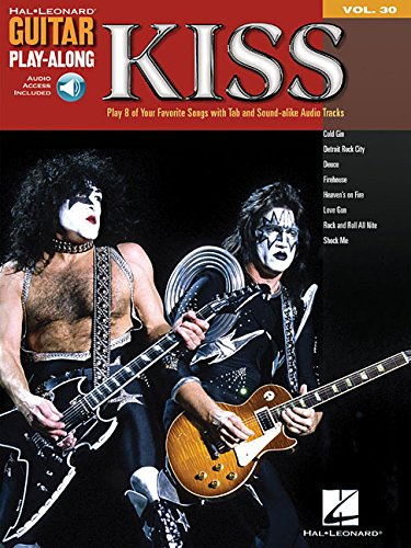 Guitar Play-Along Volume 30 Kiss Playalong Gtr Book/Cd (Book Tab Guitar Kiss)