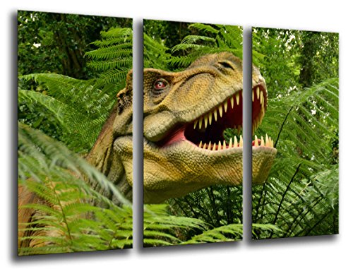 Poster Moderno Fotografico Dinosaurios, T-REX, 97 x 62 cm, ref. PST26132