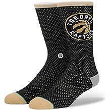 Stance NBA Arena Raptors Crew calcetín, dorado