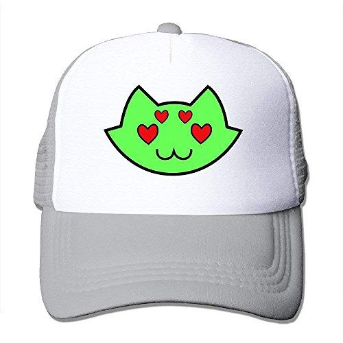 abdd77793 Casual Snapback Caps Homestuck Anime Cat Heart Hip Hop Cap Hats Black