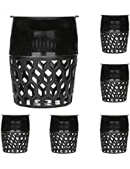 Demiawaking 6pcs Plástico Juego de Redes para Tabla de Billa Drop Bolsillos Billar Tabla de Piscina Forros