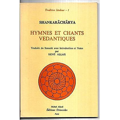 Hymnes et chants vedantiques