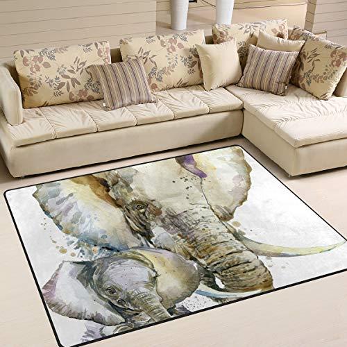 FCZ Area Rugs - Alfombra Antideslizante para habitación o sofá, diseño de...
