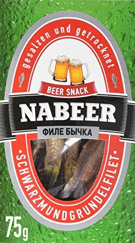 """nabeer Fisch Snack\""""Bychok\"""", 5er Pack (5 x 75 g)"""