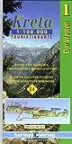Kreta Touristikkarten Westen und Osten. 1:100.000: Harms-ic Touristikkarten, Kreta, Der Westen (Maps of Crete)