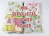 Servilletas Ambiente selección MYBA Mix FLOWER POWER 75 unidades