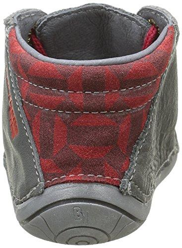 Babybotte Zeste, Chaussures Quatre Pattes (1-10 mois) Bébé Garçon Gris (071 Gris/Rouge)