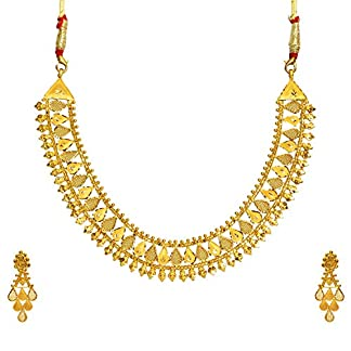 Benud Behari Dutt 22KT Gold Jewellery Set for Women