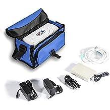 Portátil concentratoroxygen Generador de oxígeno máquina con recargable generación 28% +/-2% para coche/Home/de viaje