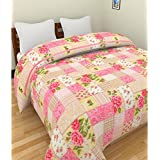 Jaipuri famous floral print Soft and Warm Micro Fiber double Size dohar/AC blanket By Vie Loom