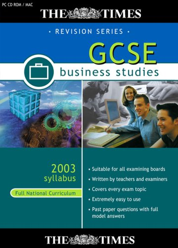 The Times GCSE Business Studies 2003/2004 Syllabus (Full National Curriculum) Test