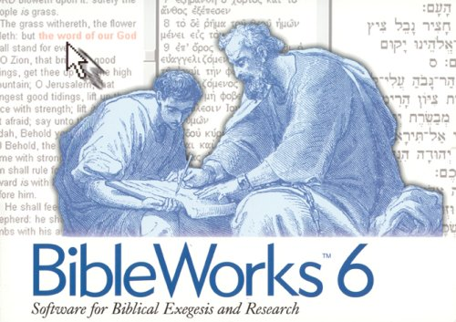 BibleWorks 6. 2 CD-ROMs für Windows ab 95. Software for Biblical Exegesis and Research