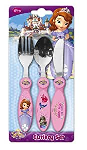 Sofia the First 3 Piece Metal Cutlery Set