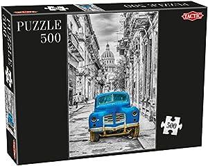 Tactic Cars Puzzel 500 pcs Puzzle - Rompecabezas (Puzzle Rompecabezas, Vehículos, Niños y Adultos, Niño/niña, 470 mm, 310 mm)