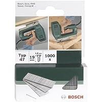 Bosch 2609255809 Set de 1000 clous d'agrafage Type 47 Longueur 16 Tête Largeur 1,8 mm Epaisseur 1,27