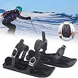 Skifahren Im Freien Mini Snowboard Slalom Skischuhe Skischuhe Kombinieren Sie Skates Mit Skiern Mit Tragetasche, Größe EU 37-47