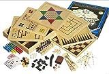 Philos 3102 - Holz-Spielesammlung mit 100 Spielmöglichkeiten