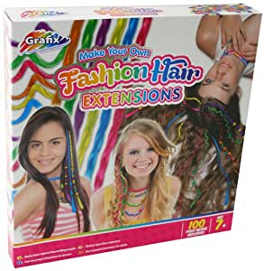 Grafix Make Your Own Fashion Hair Extensions: Amazon.co.uk