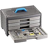 Valise à outils en métal 64 pièces ''WZK-645'' AGT XJ6R6xh5