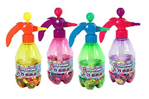 apump Wasser Ballon Füllung Station mit 300biologisch abbaubar Wasser Luftballons (Farben variieren) ()