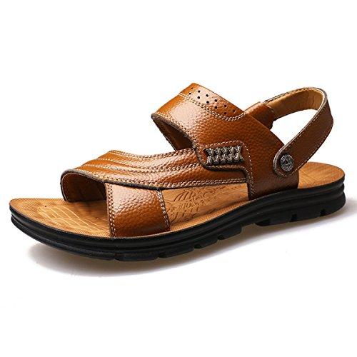 Sandalen Sandalen Männer Hausschuhe Outdoor-Watschuhe Yellow