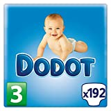 Dodot, Talla 3, 192 pañales