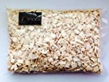 Holzgranulat 5-20mm 1 Liter. Farbe natur - weiß WEISS