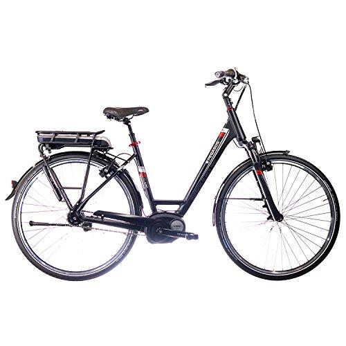 Pegasus Premio E8 F 2016 E-Bike Pedelec Bosch 400WH, Farbe:Schwarz;Rahmenhöhe:55 cm