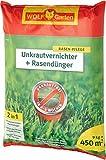 WOLF-Garten Rasendünger+Unkrautvern. 450 qm SQ 450 D/A
