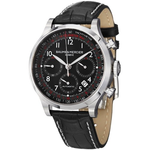 baume-et-mercier-capeland-m0a10084-gents-black-calfskin-automatic-date-watch