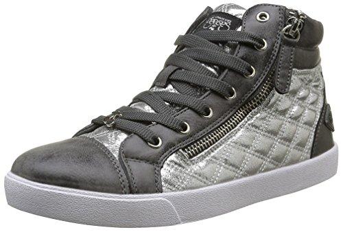 Le Temps des Cerises - Kim, Sneaker Donna Grigio (Gris (Silver))