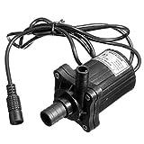 Calli 12V DC Brushless 500LPH Tauchwasserpumpe Motor Gartenteichpumpe