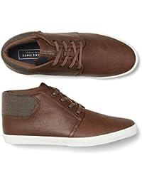 Jack & Jones - Zapatillas de poliuretano para hombre marrón coñac
