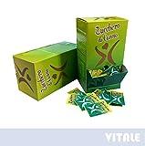 Zucchero di CANNA Grezzo Qualità Demerara delle Mauritius - 150 Bustine in Confezione DISPENSER