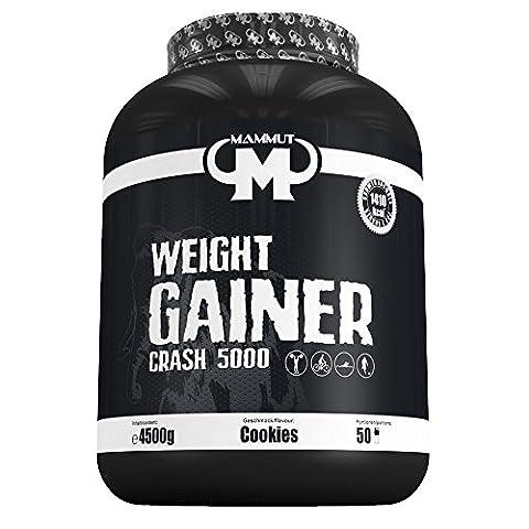 Best Body 3 Mammut Weight Gainer Crash 5000 Protéine