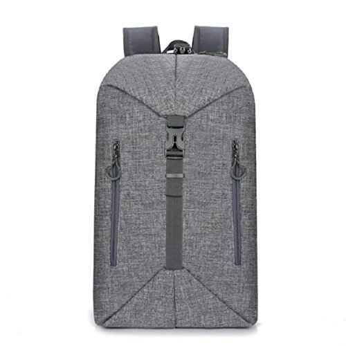Z&N Backpack 20-30L KapazitäT Mehrzweckverformung BeiläUfiger Im Freiensportrucksack Laptoptasche Unisexschulstudententasche Kann Schulter Crossbody GepäCkbeutel D