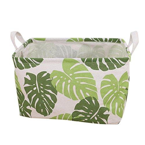 feiXIANG Waterproof Canvas aufbewahrungsbox Wäsche Kleidung Aufbewahrungsbox Basket Storage Box Folding