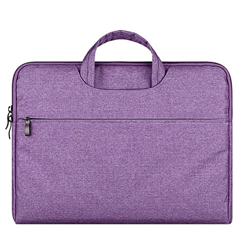 Dell I3542 Laptop (Laptoptasche Wasserfeste Umhängetasche Notebook Hülle Tasche für 15-15.6 Zoll Laptop/MacBook Pro/MacBook Air Lila)